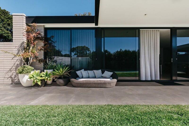 Keramische terrastegel zorgt voor een chique uitstraling