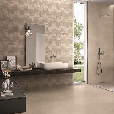 Wandtegels in de badkamer zijn de echte sfeermakers