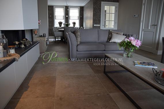 Geef je huis een lichte en luxe uitstraling een beige vloertegel